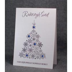kartka bożonarodzeniowa z logo