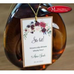 zawieszki na alkohol weselny rustykalne i ekologiczne