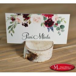 winietki weselne karteczki ślubne