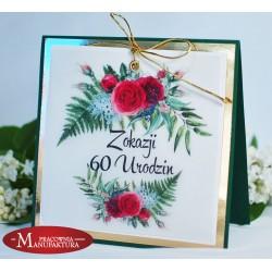 UR60-1 - KARTKA NA 60 URODZINY