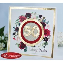 UR50-3 - KARTKA Z OKAZJI 50 URODZIN