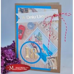 URC18-3 - KARTKA NA 18 URODZINY
