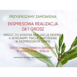 EKSPRESOWA REALIZACJA - PROMOCJA 01.06 - 21.06.2020