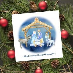 religijne karnety świąteczne z logotypem