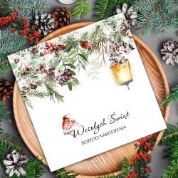firmowe karnety świąteczne z z logo firmy