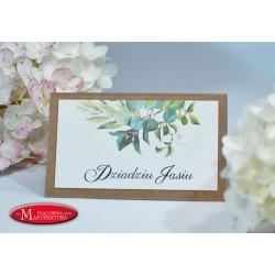winietki na chrzest, komunię, urodziny karteczki na stoły