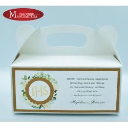 rustykalne pudełko na ciasto