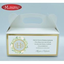 pudełko na ciasto z Hostią
