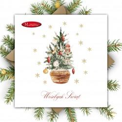firmowe karnety świąteczne z logo firmy