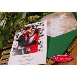 Zaproszenie ślubne z Waszym zdjęciem